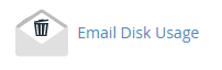 Email Disk Usage